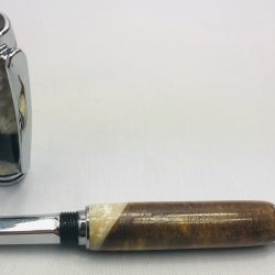 Walnut and Alumilite Hybrid Navigator Pen